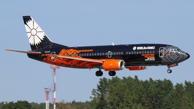 A picture of EW254PA - Boeing 7373Q8 - Belavia - © Vitaly Revyakin