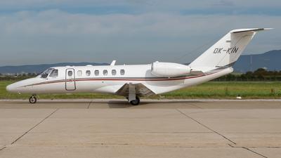 A picture of OKKIN - Cessna 525B CitationJet CJ3 - Aeropartner - © Josip Markuz