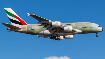 A picture of FWWSP - Airbus A380 - Airbus - © Dirk Grothe