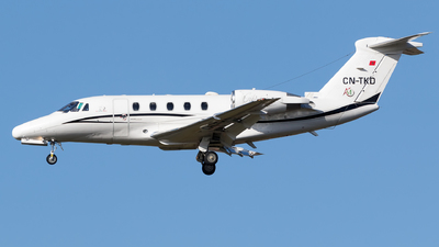 CN-TKD - Cessna 650 Citation III - Air Ocean Maroc