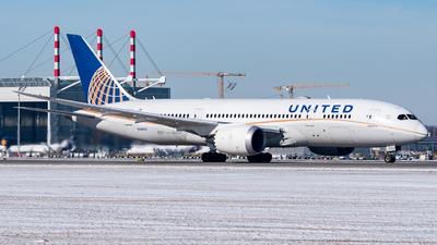N28912 - Boeing 787-8 Dreamliner - United Airlines