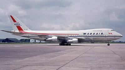 CF-DJC - Boeing 747-1D1 - Wardair Canada