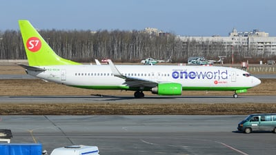 VQ-BKW - Boeing 737-8ZS - S7 Airlines