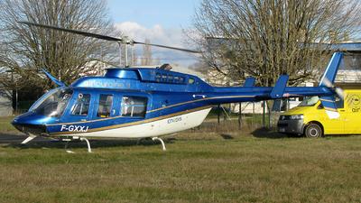 F-GXXJ - Bell 206L LongRanger - Air Touraine Hélicoptère