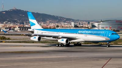 LV-CSD - Airbus A340-313X - Aerolíneas Argentinas