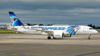 SU-GEX - Airbus A220-371 - EgyptAir Express