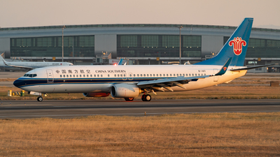 B-1411 - Boeing 737-81B - China Southern Airlines