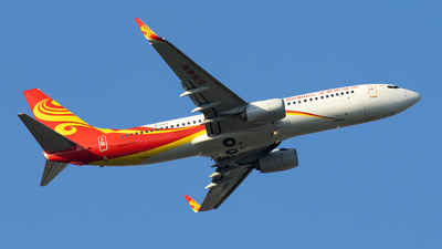 A picture of B1787 - Boeing 73784P - Hainan Airlines - © XPHNGB