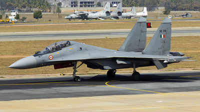 SB318 - Sukhoi Su-30MKI - India - Air Force