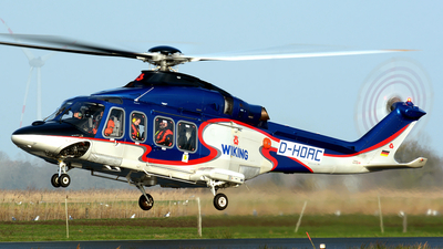 A picture of DHOAC - AgustaWestland AW139 - Wiking Helikopter Service - © Nils Berwing