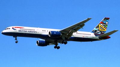G-BIKW - Boeing 757-236 - British Airways