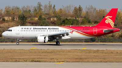 A picture of B6568 - Airbus A320214 - Shenzhen Airlines - © Jinshui Road