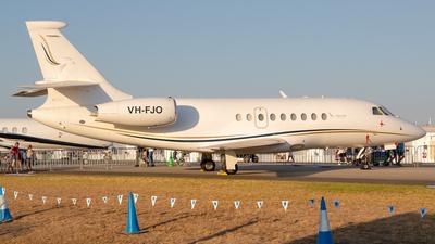 VH-FJO - Dassault Falcon 2000 - Private