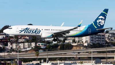 A picture of N524AS - Boeing 737890 - Alaska Airlines - © Manuel Mueller