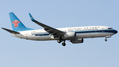 A picture of B5742 - Boeing 73781B - China Southern Airlines - © subing27
