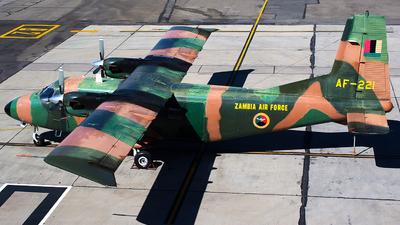 AF221 - Harbin Y-12 IV - Zambia - Air Force