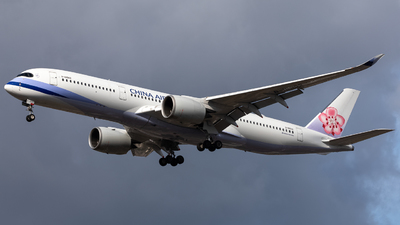 B-18902 - Airbus A350-941 - China Airlines