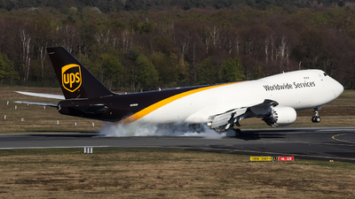 A picture of N626UP - Boeing 7478F - UPS Airlines - © Jan P Born