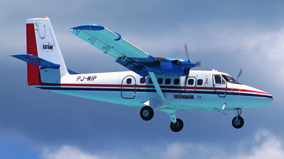 PJ-WIP - De Havilland Canada DHC-6-300 Twin Otter - Winair - Windward Islands Airways