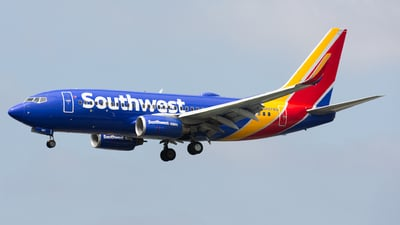 N497WN - Boeing 737-7H4 - Southwest Airlines