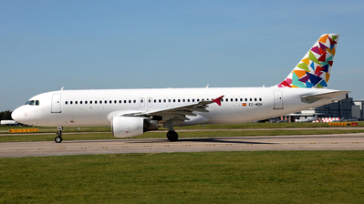 EC-MQH - Airbus A320-214 - TACV Cabo Verde Airlines