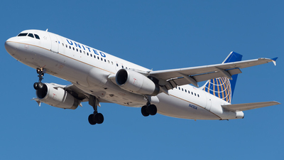 A picture of N411UA - Airbus A320232 - United Airlines - © M.R. Aviation Ph