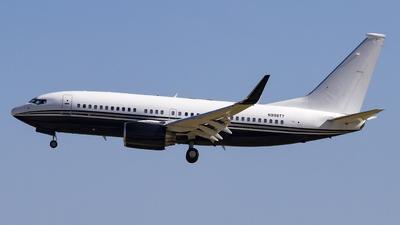 N999TY - Boeing 737-7JR(BBJ) - TAG Aviation Asia