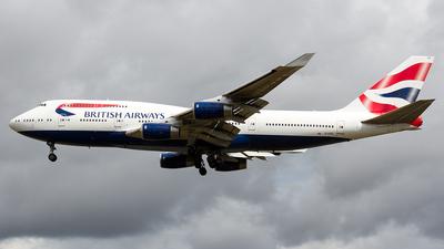 G-CIVO - Boeing 747-436 - British Airways