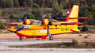 EC-HET - Canadair CL-215-1A10 - Compañía de Extinción General de Incendios (CEGISA)
