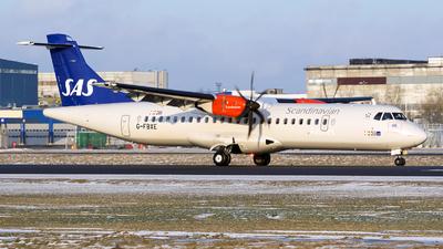 G-FBXE - ATR 72-212A(600) - Scandinavian Airlines (SAS)
