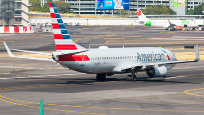 A picture of N821NN - Boeing 737823 - American Airlines - © Arturo Quintero