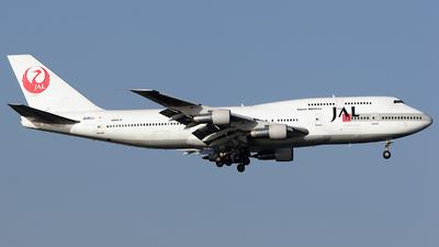 JA812J - Boeing 747-346 - Japan Airlines (JAL)