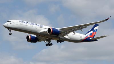 F-WZFR - Airbus A350-941 - Aeroflot