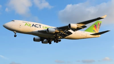 TC-ACF - Boeing 747-481(BDSF) - ACT Airlines