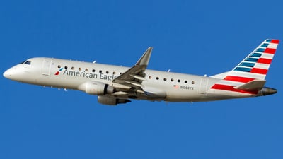 A picture of N444YX - Embraer E175LR - American Airlines - © Conor Clancy