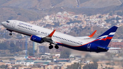 VP-BNP - Boeing 737-8MC - Aeroflot