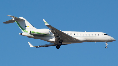A picture of ECLTF - Bombardier Global 6000 - Gestair - © Mateo León