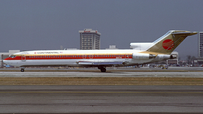N88715 - Boeing 727-224 - Continental Airlines