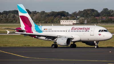 A picture of DABGN - Airbus A319112 - Eurowings - © Oliver Sänger