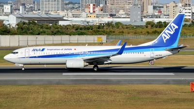 JA67AN - Boeing 737-881 - All Nippon Airways (ANA)