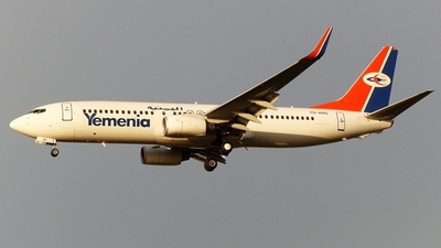 7O-ADQ - Boeing 737-8Q8 - Yemenia - Yemen Airways