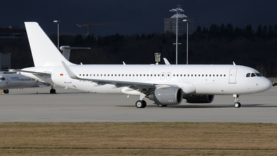D-ALFU - Airbus A320-251NCJ - DC Aviation