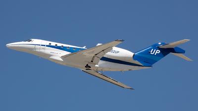 N902UP - Cessna 750 Citation X - Wheels Up