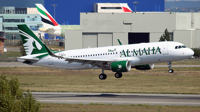 F-WWDO - Airbus A320-214 - Al Maha Airways