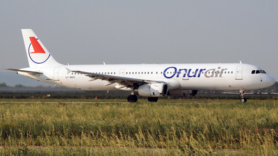 LY-NVQ - Airbus A321-231 - Onur Air (Avion Express)