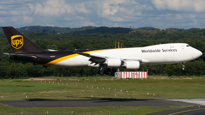 A picture of N607UP - Boeing 7478F - UPS - © Marcel Rudolf