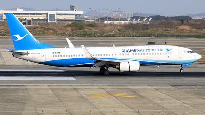A picture of B5389 - Boeing 73786N - Xiamen Air - © Qiao Zheng