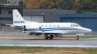 N265WS - Rockwell Sabreliner 65 - Private