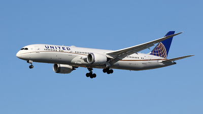 N26970 - Boeing 787-9 Dreamliner - United Airlines