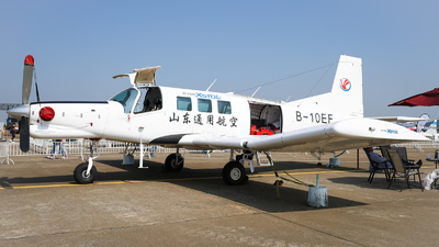 B-10EF - Pacific Aerospace P-750 XSTOL - Shandong General Aviation
